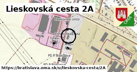 Lieskovská cesta 2A, Bratislava