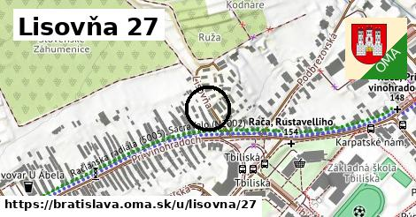 Lisovňa 27, Bratislava