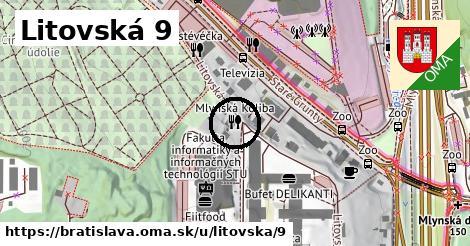 Litovská 9, Bratislava