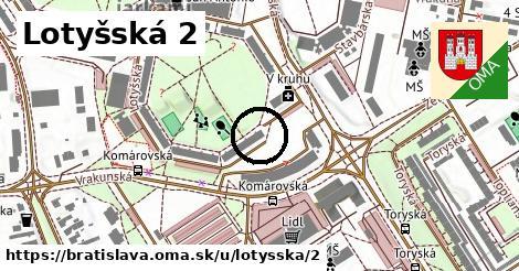 Lotyšská 2, Bratislava