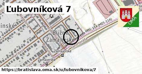 Ľubovníková 7, Bratislava