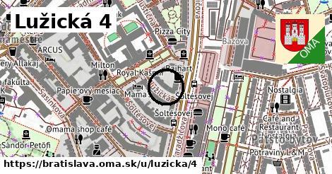 Lužická 4, Bratislava