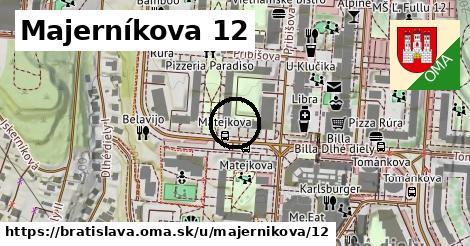 Majerníkova 12, Bratislava