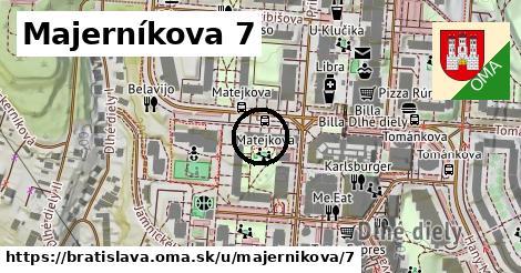Majerníkova 7, Bratislava