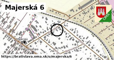 Majerská 6, Bratislava