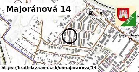Majoránová 14, Bratislava