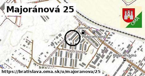 Majoránová 25, Bratislava
