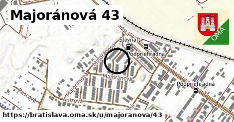 Majoránová 43, Bratislava