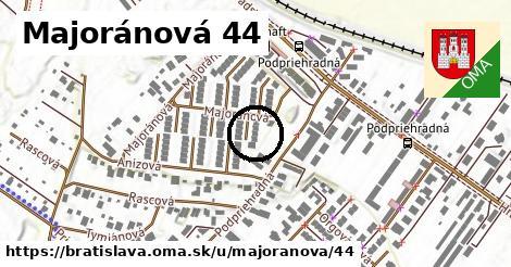Majoránová 44, Bratislava
