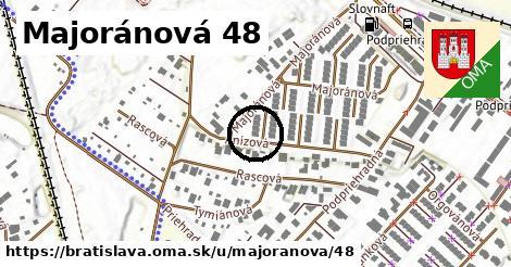 Majoránová 48, Bratislava
