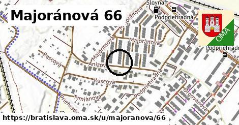Majoránová 66, Bratislava