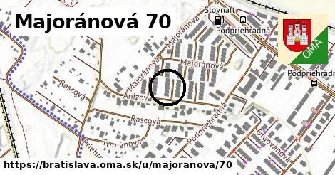 Majoránová 70, Bratislava