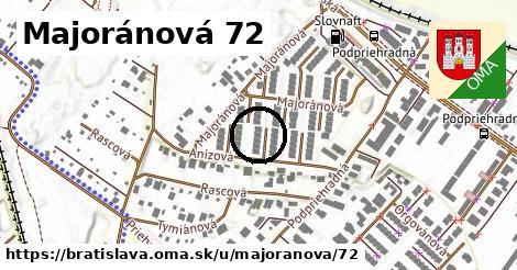 Majoránová 72, Bratislava