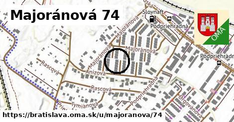 Majoránová 74, Bratislava
