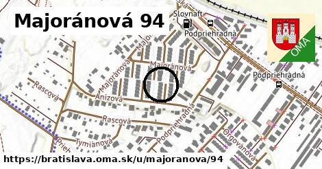 Majoránová 94, Bratislava