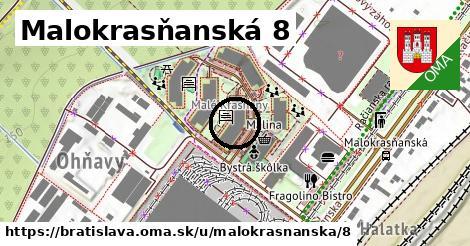 Malokrasňanská 8, Bratislava