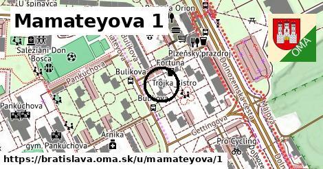 Mamateyova 1, Bratislava