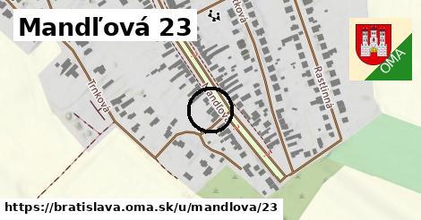 Mandľová 23, Bratislava