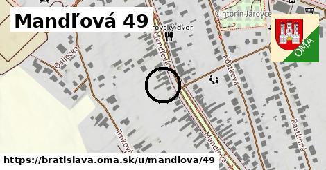 Mandľová 49, Bratislava