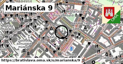 Mariánska 9, Bratislava