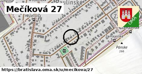 Mečíková 27, Bratislava