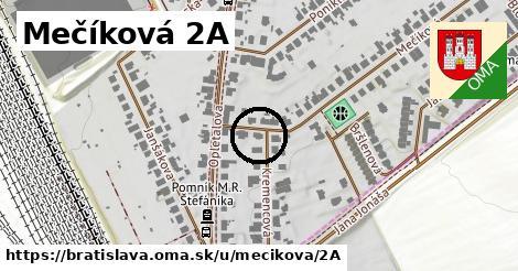 Mečíková 2A, Bratislava