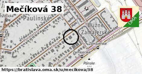 Mečíková 38, Bratislava