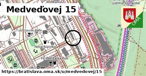 Medveďovej 15, Bratislava