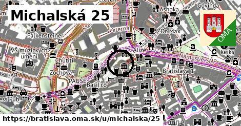 Michalská 25, Bratislava