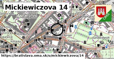 Mickiewiczova 14, Bratislava