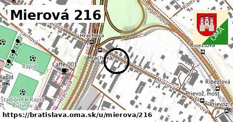 Mierová 216, Bratislava