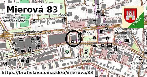 Mierová 83, Bratislava