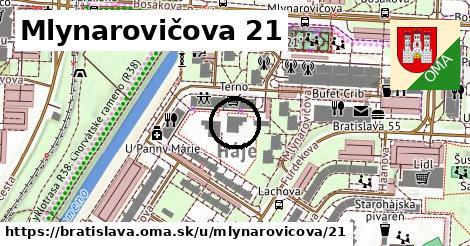 Mlynarovičova 21, Bratislava
