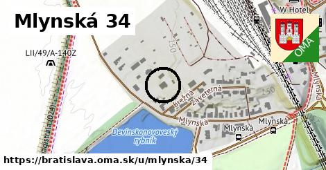 Mlynská 34, Bratislava