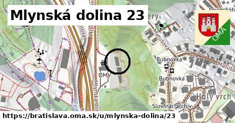 Mlynská dolina 23, Bratislava