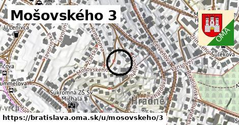 Mošovského 3, Bratislava