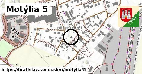 Motýlia 5, Bratislava