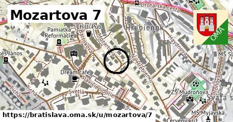 Mozartova 7, Bratislava