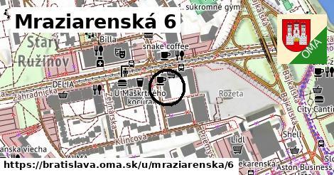 Mraziarenská 6, Bratislava