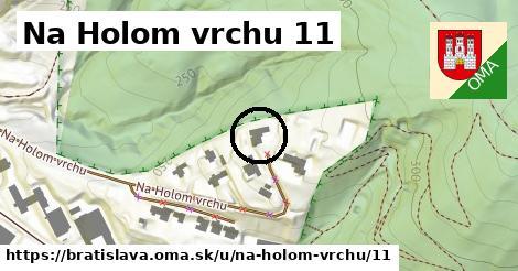 Na Holom vrchu 11, Bratislava