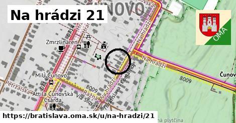 Na hrádzi 21, Bratislava
