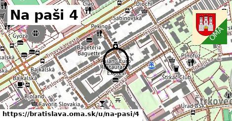 Na paši 4, Bratislava