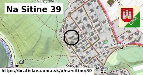 Na Sitine 39, Bratislava
