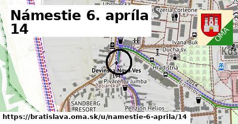 Námestie 6. apríla 14, Bratislava