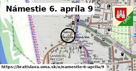 Námestie 6. apríla 9, Bratislava