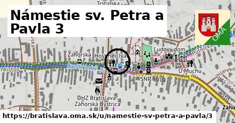 Námestie sv. Petra a Pavla 3, Bratislava