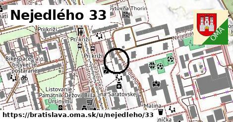Nejedlého 33, Bratislava