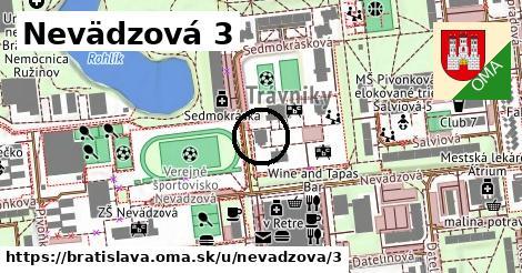 Nevädzová 3, Bratislava