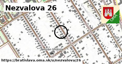 Nezvalova 26, Bratislava