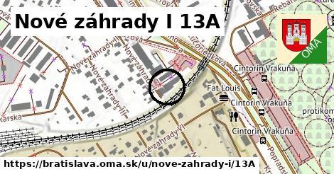 Nové záhrady I 13A, Bratislava